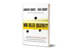Book: Who Killed Creativity?... And How Can We Get It Back?